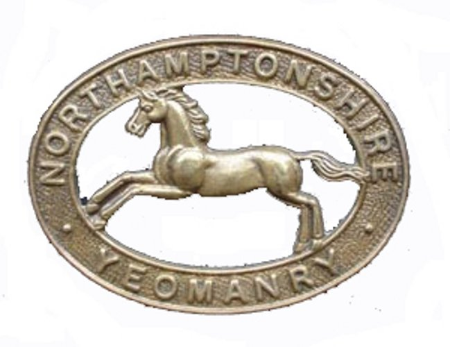 Northamptonshire Yeomanry badge